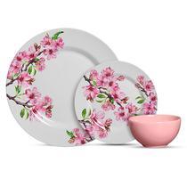 Aparelho de Jantar 12 peças Cerejeira-Alleanza -