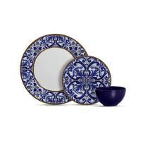Aparelho de jantar 12 peças coimbra 1080-003 - Alleanza Ceramica