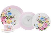 Aparelho de Jantar 30 Peças Casambiente Porcelana - Redondo Belle