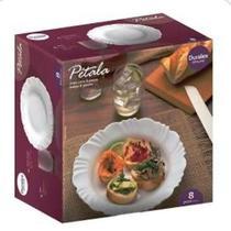 Aparelho de jantar 8 peças DURALEX OPALINE -
