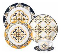 Aparelho De Jantar Oxford São Luis 30 Peças Cerâmica -
