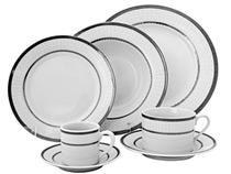Aparelho de Jantar Platinum Porcelana 42 Peças - Riserva 311002135
