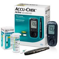 Aparelho De Medir Glicose Diabetes Accu-chek Kit Completo -