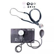 Aparelho De Medir Pressão Com Estetoscopio Duplo Rappaport - Premium