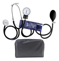 Aparelho De Medir Pressão Esfigmomanômetro Infantil + Estetoscópio Premium -