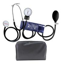 Aparelho De Medir Pressão Esfigmomanômetro Neonatal + Estetoscópio Premium -