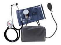 Aparelho de Pressão Arterial Manual Com Fecho De Metal Premium + Estetoscópio -