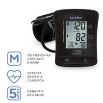 Aparelho de Pressão Automático de Braço BP-1209 - Techline -