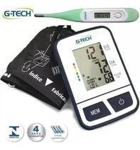 Aparelho De Pressão De Braço Digital + Termômetro Digital - G-Tech