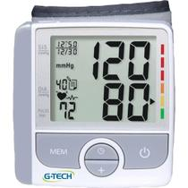 Aparelho de Pressão Digital G-Tech Automático Pulso com Detecção de Arritmia GP300 -