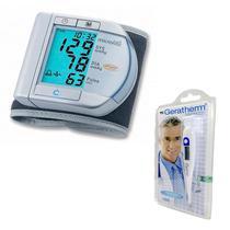 Aparelho De Pressão Digital Microlife E Termometro Geratherm -