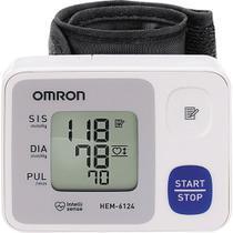 Aparelho de Pressão Digital Omron Automático Pulso HEM-6124 -