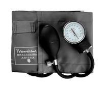 Aparelho de Pressão (Esfigmomanômetro / Tensiômetro) Analógico Grafite/Cinza - Premium -