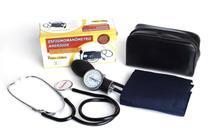Aparelho De Pressão Manual Esfigmomanômetro + Estetoscópio - PREMIUM