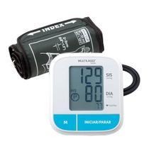 Aparelho de Pressão Monitor de Pressão Arterial Multilaser de Braço Silencioso - HC206 -