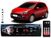 Aparelho De Som Mp3 Fiat Punto Bluetooth Pendrive Rádio - Oestesom
