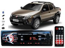 Aparelho De Som Mp3 Fiat Strada Bluetooth Pendrive Rádio - Oestesom