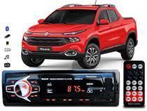 Aparelho De Som Mp3 Fiat Toro Bluetooth Pendrive Rádio - Oestesom