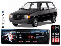Aparelho De Som Mp3 Fiat Uno Bluetooth Pendrive Rádio - Oestesom