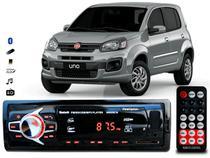 Aparelho De Som Mp3 Fiat Uno Novo Bluetooth Pendrive Rádio - Oeste Som