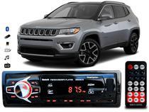 Aparelho De Som Mp3 Jeep Compass Bluetooth Pendrive Rádio - Oestesom