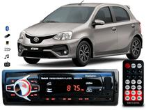 Aparelho De Som Mp3 Toyota Etios Bluetooth Pendrive Rádio - Oestesom