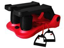 Aparelho De Stepper e Ginástica com Display - 5 Níveis de Esforço com Extensor Bioshape Air