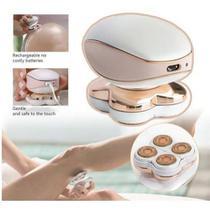 Aparelho depilador Aparelho Depilação Feminino Virilha Perna Axila Elétrico Bivolt USB - Promoshop