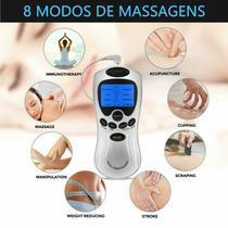 Aparelho Digital de Fisioterapia Acupuntura Tens & Fes Portátil - Health Herald