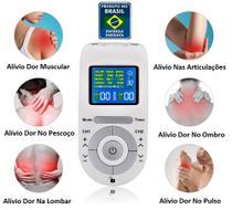 Aparelho Fisioterapia Acupuntura Massageador Digital 4 Eletrodos - Hailicare