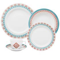 Aparelho Jantar 42 Peças Porcelana Colors SM42-9408 Oxford -