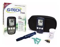 Aparelho Medidor De Glicose Glicosimetro Glicemia Gtech Free - G-Tech -