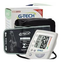 Aparelho Medidor De Pressão Arterial Braço Extra G + Estojo + Pilhas - Gtech