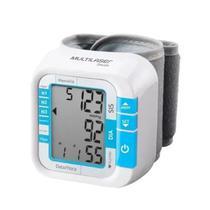 Aparelho Medidor De Pressão Arterial Digital De Pulso Com Monitor De Medição Da Frequência Cardíaca - HC204 Multilaser -