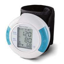 Aparelho Medidor De Pressão Arterial Digital De Pulso  Fácil Leitura, Armazena Últimas 60 Medições  HC075 Multilaser -