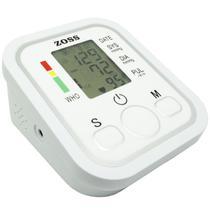 Aparelho Medidor de Pressão Arterial e Pulsação Digital Automático de Braço Com Voz Zoss ZS-B19 -