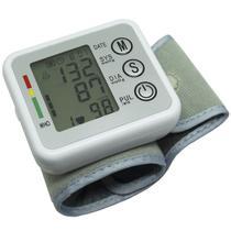 Aparelho Medidor de Pressão Arterial e Pulsação Digital Voz Automático Punho Next Trading ZK-W863PB -