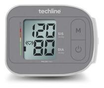 Aparelho Medidor Monitor Pressão Arterial Digital Pulso Techline - 4 Anos de Garantia -