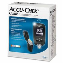 Aparelho Medir Glicose Diabetes Accu-chek Guide Kit Completo - roche
