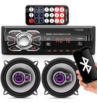Aparelho Mp3 Com Bluetooth Radio Fm Usb + Falante Pioneer 5 -