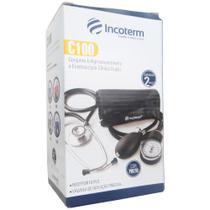 Aparelho para medir pressão com estetoscópio incoterm - Incoterm ind term