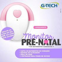 Aparelho Para Ouvir Coração Do Bebê Monitor Pré-natal G-tech - Gtech
