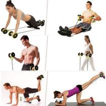 Aparelho para treino malhar em casa glúteos braço perna abdominal e outros original - Slu Tech