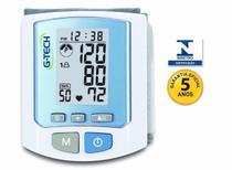 Aparelho Pressão Arterial Digital Pulso Rw450 Com 100 Memórias - G-tech -