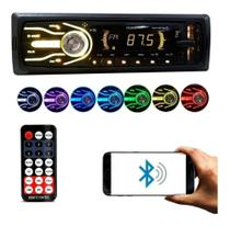 Aparelho Radio Mp3 Automotivo Som Universal Bluetooth Usb Rádio - First Option