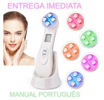Aparelho Radiofrequencia Rejuvenescimento Facial Led 5 Em 1 - Beauty Instrument