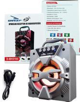 Aparelho receptor de radiofusão Bluetooth fm Sd Usb hifi D-BH 3103 - Grasep -