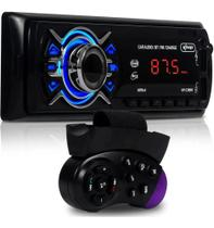 Aparelho Som Automotivo Rádio Bluetooth Usb E Leitor Sd AM/FM - Knup