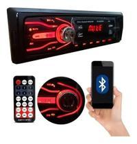 Aparelho Som Automotivo Rádio Bluetooth Usb E Leitor Sd Enivo Imediato - First Option
