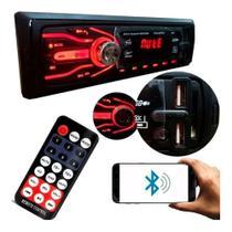 Aparelho Som Automotivo Rádio Bluetooth Usb Mp3 Player Envio Imediato - First Option
